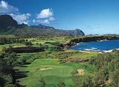 ゴルフ初心者にオススメのカウアイ島ゴルフコース♪