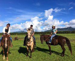 カウアイ島での乗馬はワイメア渓谷では無くノースショアかポイプ!