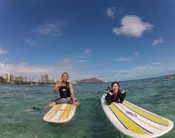サーフィンポイントはワイキキビーチよりアラモアナ!