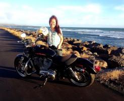 カウアイ島なら中型免許でレンタルバイク・ハーレーに乗れちゃうよ!