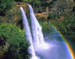 カウアイ島パワースポット!オパエカア滝よりワイルア滝
