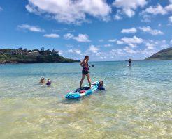 カウアイ島おすすめ最新マリンスポーツは『ペダルボード』!