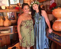 カウアイ島旅行記Hawaiian 8 cafe on Mid-FM 76.1青井英美さんのカウアイ島コーディネートさせて頂きました^^