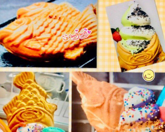 アラモアナのおすすめ!『たい焼きアイス・ソミソミ』種類&注文の仕方^^